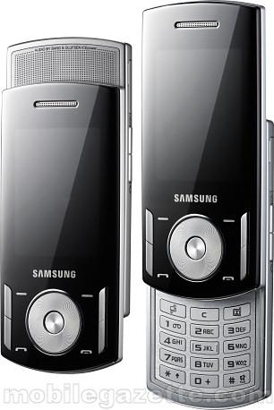 Компания Samsung Electronics представила музыкальный мобильный телефон F400