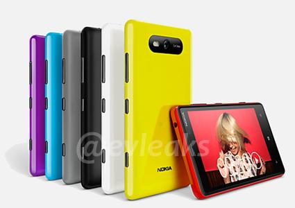Опубликованы фотографии WP8-смартфонов Nokia Lumia 920 PureView и Lumia 820