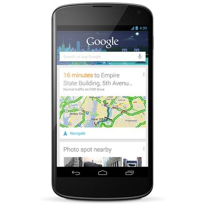 Новая информация о Google Nexus 5