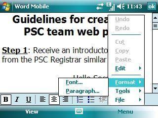 Обзор операционной системы Windows Mobile 5.0