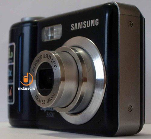 Инструкция Samsung Digimax S600