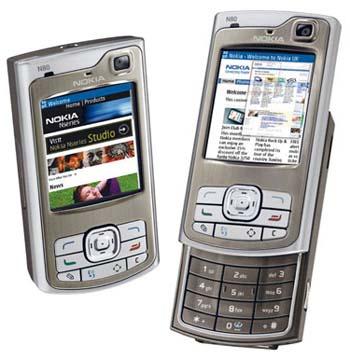 Салоны мобильных новинок  продвигают Nokia N80 Internet ...